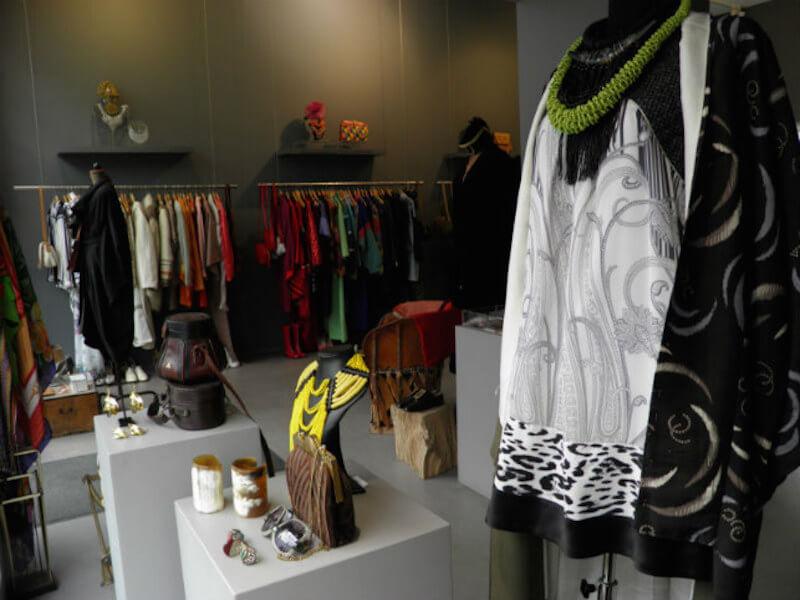 Garments Vintage Display